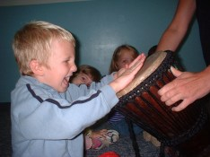 Drumming with Children