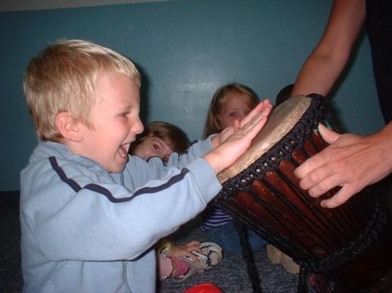 Drumming with Children